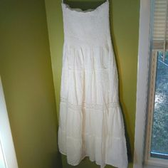 """""""SALE!"""" Speed Control New York Summer Dress NWOT This is a strapless flowing long summer dress. It has never been worn. Very pretty. Could look great with a summer hat and sandals. Speed Control New York Dresses"""