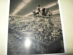 """This photo is the Newberry store in Woodmar Mall in Hammond, Indiana and is dated November 1965. That's """"before my time"""" but I remember the store still had the """"Toyland"""" sign in the 1970s. They had a really awesome lunch counter that served a great grilled cheese. Newberry's was where I got most of my Matchbox toy cars as well. The store closed in 1975 and was replaced with the Court of Lions. Hammond Indiana, Store Closing, No Time For Me, Lions, Mall, Counter, 1970s, The Past, November"""