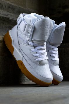 "buy online 3fa77 a017c Ewing 33 Hi ""White   Gum†(Detailed Photos. Patrick Ewing SneakersEwing  ShoesWhite SneakersSneakers NikeNike ..."