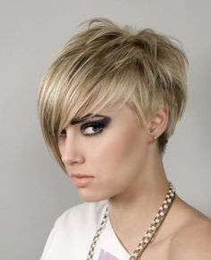 Photos of Choppy Pixie Hairstyle