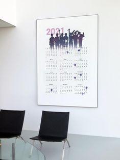 2021 BTS Calendar Poster 1 year / Bangtan sonyeondan | Etsy Bts Calendar, 2021 Calendar, Bts Birthdays, Bts Wallpaper, 1 Year, Poster, Army, Design, Decor