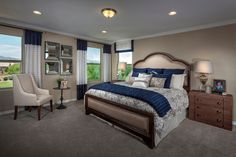 Somerset at Gladden Farms, a KB Home Community in Marana, AZ (Tucson) Cozy Bedroom, Master Bedroom, Bedroom Ideas, Farm Plans, Kb Homes, Phoenix Homes, New Home Communities, Build Your Dream Home, New Homes For Sale
