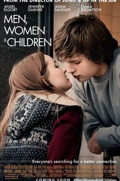 men, women and children Ansel Elgort, Cinema Movies, Film Movie, Alfred Hitchcock, Jennifer Garner, Film Man, Movie To Watch List, Romantic Films, Movie Lines
