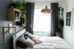 w tym pokoju dbamy o siebie - metamorfoza sypialni - mrspolkadot Home Staging, Living Spaces, House Design, Curtains, Interior Design, Architecture, Inspiration, Furniture, Home Decor