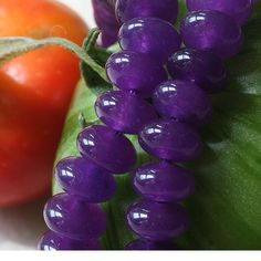 Dyed Gemstone Smooth Rondelle Beads Jewelry by funkyprettybeads, $3.75