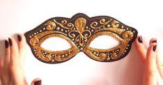 Video tutorial de máscara veneciana de carnaval