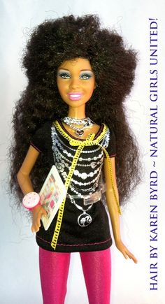 someone finally made a doll after me :D he he.