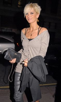 Sarah Harding in Sarah Harding And Tom Crane Out At The Ivy Restaurant