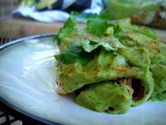 Pork Avocado Cream Enchiladas#Repin By:Pinterest++ for iPad#