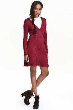 랩스타일 드레스