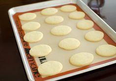Bánh quy phủ kem dâu tây