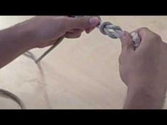 ▶ How to Tie a Square Knot - YouTube