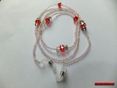 CherryCharm's Apoy Eyeglass Holder - Unique handcrafted Bracelets, Necklaces, Pearls and Gift Ideas Eyeglass Holder, Eyeglasses, Pearls, Unique, Bracelets, Gifts, Jewelry, Eyewear, Presents