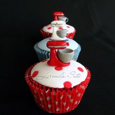 Kitchen Aid Cupcakes