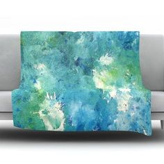 KESS InHouse Sporadically by CarolLynn Tice Fleece Throw Blanket Size: