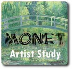 Monet artist study for homeschool. Claude Monet is sure to be at the top of your homeschool artist study list! His paintings are everywhere and his contribution to art history is. Claude Monet, Artist Monet, 7th Grade Art, Art History Lessons, Montessori Art, Ecole Art, Preschool Art, Kandinsky, Art Lesson Plans
