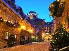 Quebec City in December.