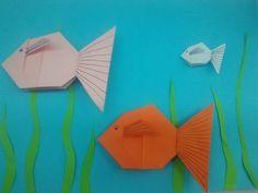 Origami halacska - YouTube