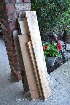 How I built the pallet wood sofa (part 2) via Funky Junk Interiors