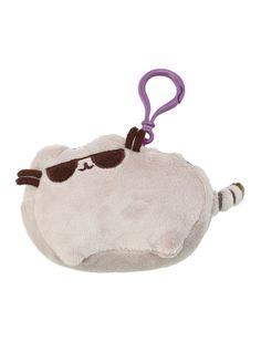 Pusheen Sunglasses Clip-On Plush