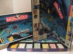Wyland Monopoly Underwater World Edition Discontinued 2006 100% Complete #Hasbro