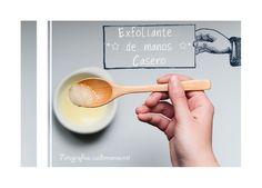 Exfoliante de manos #belleza #cosmetica #DIY #exfoliante  http://www.cuidemonos.net/2014/04/exfoliante-de-manos-casero.html