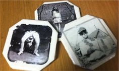 "A fun DIY coaster project based on the photos from the NY Times best seller ""Miss Peregrine's Home for Peculiar Children"" - Quirk Books : Publishers & Seekers of All Things Awesome"