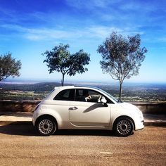 Get lost with #Fiat500!