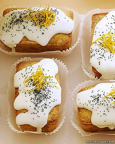 meyer lemon cream cheese pound cake #dessert