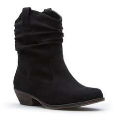 i love this ankle boot. it's like a cowboy approach to a girly-girl's fashion staple. it's neutral and it goes with tons of outfits.