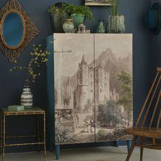 Construire un meuble décoré d'un tableau