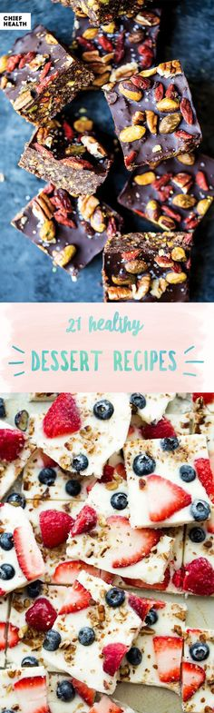 Craving something sweet? Well, we have the perfect list for you. These dessert choices will satisfy your sweet tooth, and won't make you crash thirty minutes later.