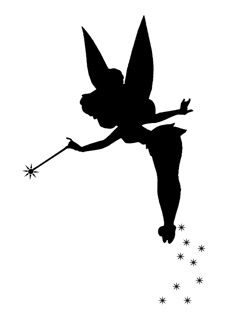 1000 ideas about tinker bell tattoo on pinterest for Tinkerbell pumpkin template free