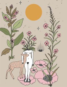 Deer Medicine - Merakilabbe