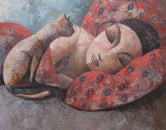 Oil painting by Didier Lourenço (2013)