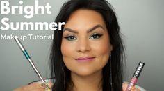 Bright Summer Makeup Tutorial for Beginners 2017 | Melissa Chee https://www.youtube.com/channel/UC76YOQIJa6Gej0_FuhRQxJg