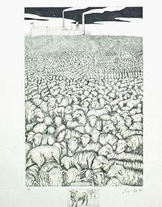 Sue Coe  Where is the Good Shepherd? (1991)