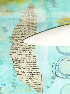 Birgit's Daily Bytes: Print Transfer Technique