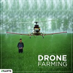 Precision agriculture drones harness technology for efficient farming and better yields #DroneFarming #Innovation