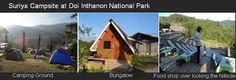 Camping Site Accommodation at Doi Inthanon National Park Chiang Mai Thailand