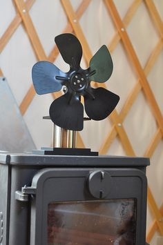 no electricity needed woodstove fan