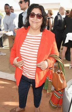 Gurinder Chadha attends Focus Features' 15th Anniversary party at the Cannes Film Festival at Baoli Beach on May 19 2017 in Cannes France