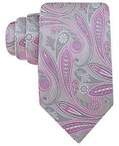 Geoffrey Beene Tie, Silverado Paisley - Mens Ties - Macy's