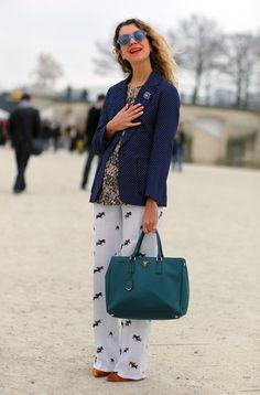 Natalie Joos, Multi Nails | Street Fashion | Street Peeper | Global Street Fashion and Street Style