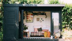 Thuis in een paradijselijk tuinhuisje ❥