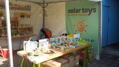 Το περίπτερο της Lagi.Plan (Solar Toys) στην έκθεση THE MEET MARKET