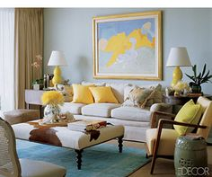 Image Detail for - Decorating with Blue | Blue Room Color Scheme Ideas | Wall Paint Color