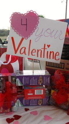 PRMompreneur: Girl Scout Cookie Booth Valentine's Day Ideas