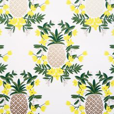 Rifle Paper Co. Print. I will get a pineapple tattoo soon enough. Hopefully in Hawaii.