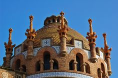 Art Nouveau Cupola, Sant Pau Hospital [enlarge]